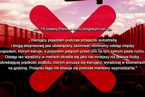 Od 1 czerwca kierowcy muszą pamiętać o zachowaniu odpowiedniego odstępu