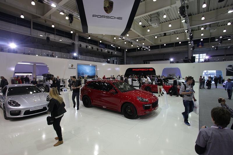 Porsche na Motor Show 2015
