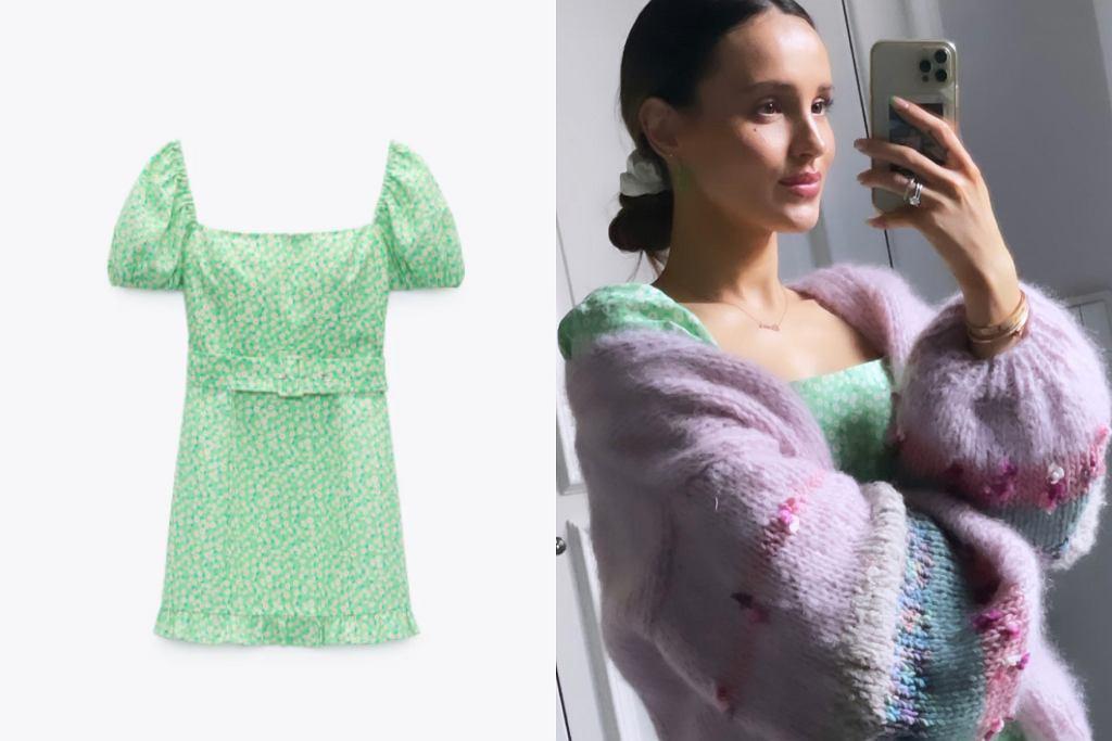 Marina w sukience z Zary