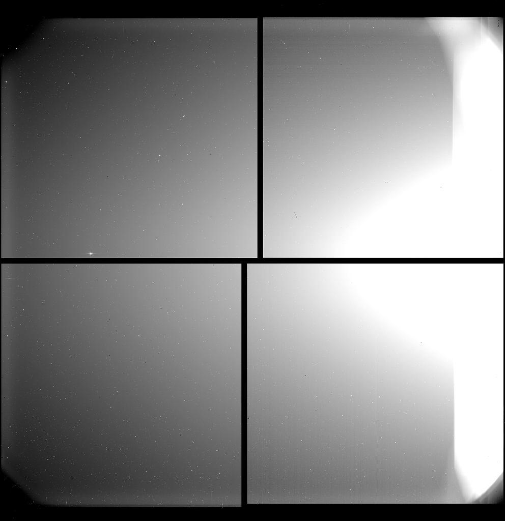 Światło zodiakalne na zdjęciach z Solar Orbiter