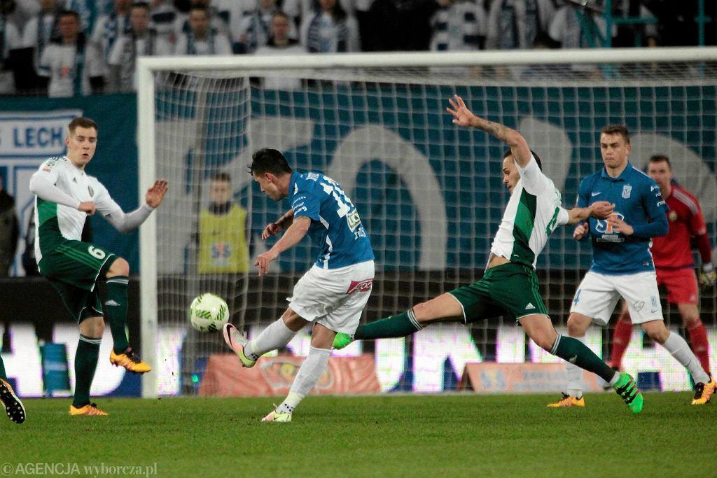 Lech Poznań - Śląsk Wrocław 0:1. Strzela Darko Jevtić