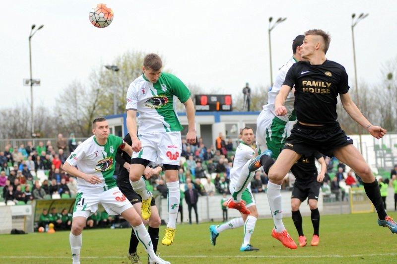 Warta Poznań - Pelikan Niechanowo 0:1