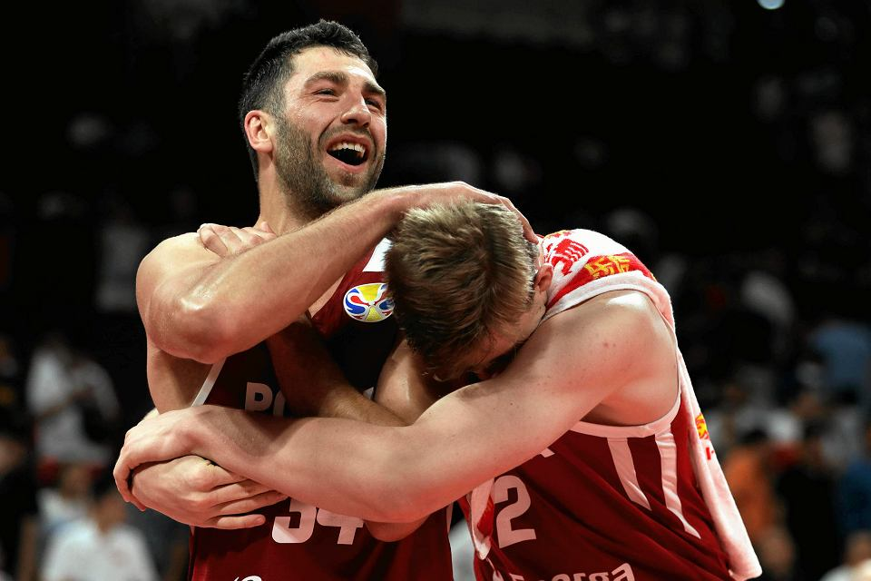 Mistrzostwa świata w koszykówce, Chiny 2019. Radość Polaków po pokonaniu Chin