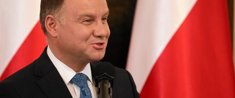 Andrzej Duda opowiedział żart.