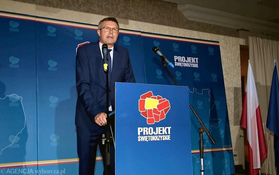Kielce, 4 listopada 2018. Wybory samorządowe. Bogdan Wenta wygrał drugą turę i został prezydentem Kielc