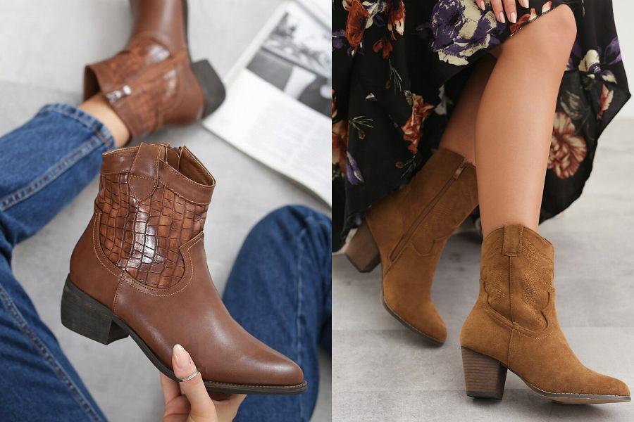 Buty kowbojki to hit jesieni! Wygodne i stylowe. Wybieramy