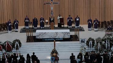 Uroczystości pogrzebowe Henryka Wujca w Świątyni Opatrzności Bożej w Wilanowie