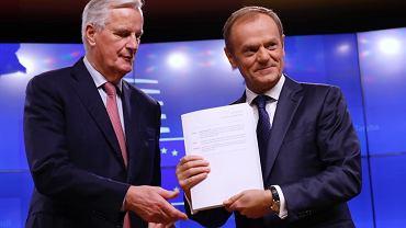 Donald Tusk ogłosił datę szczytu ws. zatwierdzenia umowy o Brexicie