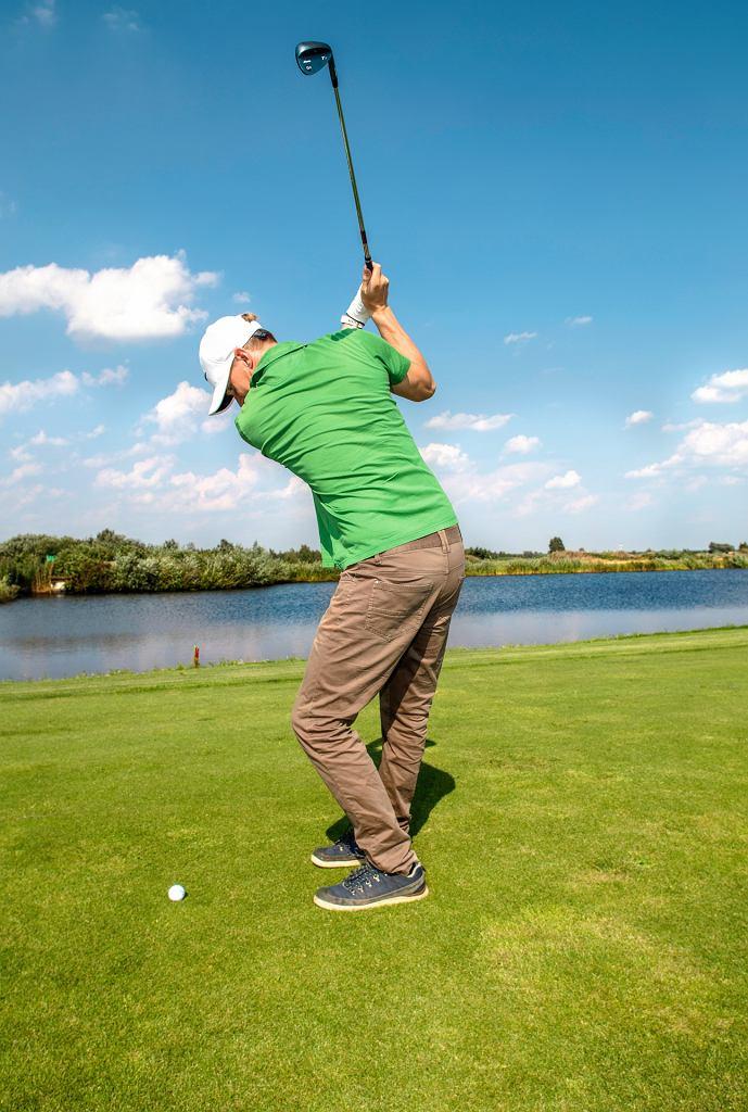 Mój pierwszy raz: golf