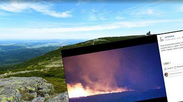 Spłonęło ok. 8 hektarów kosodrzewiny i łąk