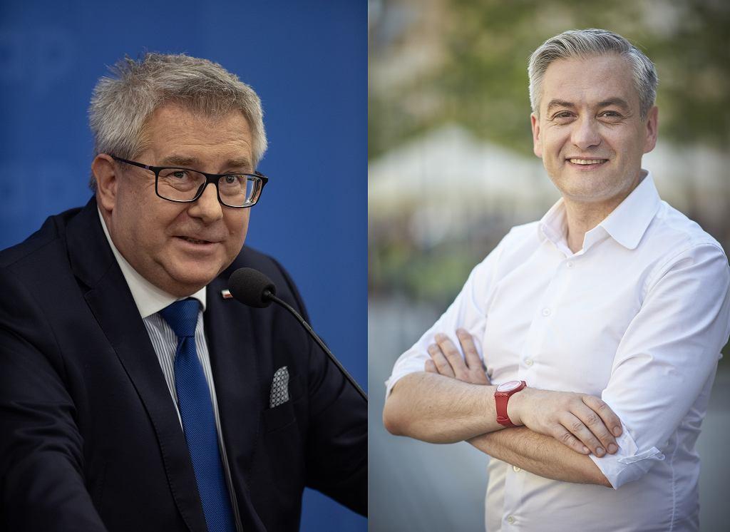 Ryszard Czarnecki i Robert Biedroń