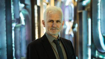 Opozycjonista białoruski Aleś Białacki .