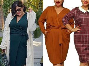 sukienki plus size / mat. partnera