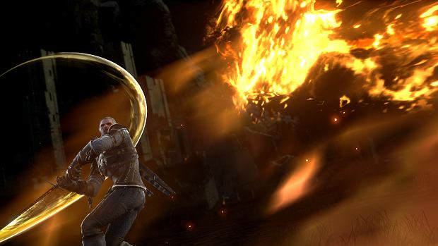 Wiedźmin w grze 'Soulcalibur'
