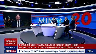 Ryszard Majdzik w 'Minęła 20' nazwał kilka razy Lecha Wałęsę kanalią
