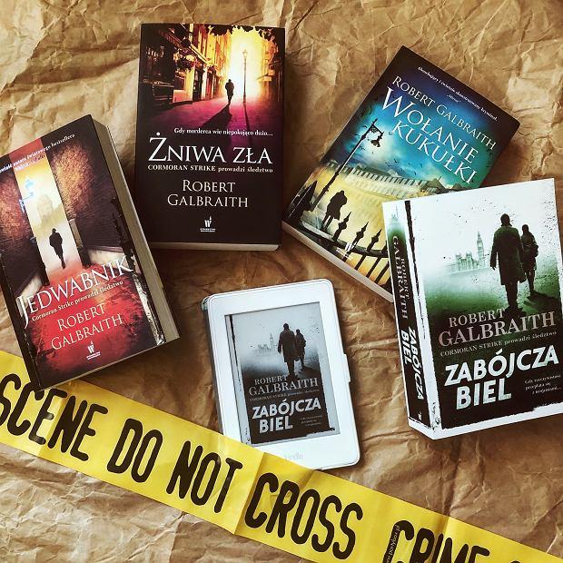 Ebook 'Zabójcza biel' i pozostałe książki z serii 'Cormoran Strike'