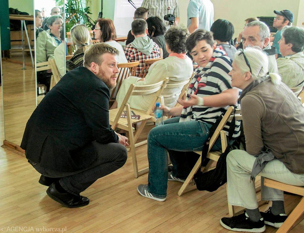 06.05.2016 Kielce. Klub Polonez. Adrian Zandberg