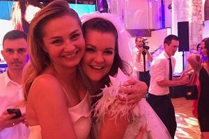 Małgorzata Socha i Agnieszka Radwańska