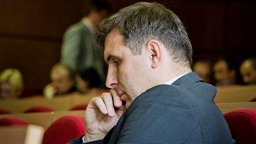Sesja Rady Miasta Białegostoku. Radny Jacek Chańko