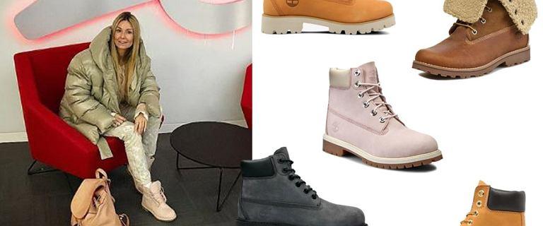Timberland to kultowe buty, idealne na zimę. Te trapery wybiera m.in. Rozenek. U nas nie tylko tradycyjne modele
