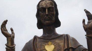 """Pomnik Jezusa Chrystusa miał stanąć w Poznaniu w ramach czasowej wystawy """"Wdzięczni za niepodległość""""."""