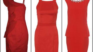 15 czerwonych sukienek do 100 zł - na walentynki