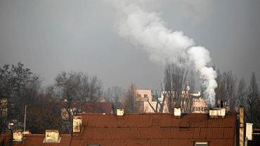 Ważna zmiana w Krakowie. Koniec z paleniem drewnem i węglem. Są już pierwsze mandaty