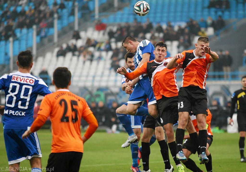 Piłka nożna, I liga. Wisła Płock - Chrobry Głogów 0:1