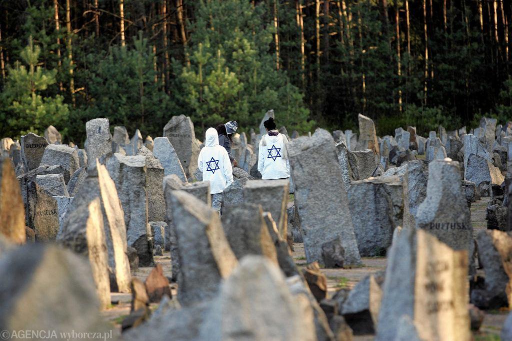14.04.2008. Wizyta Szymona Peresa w Polsce i uroczystości na terenie obozu w Treblince.