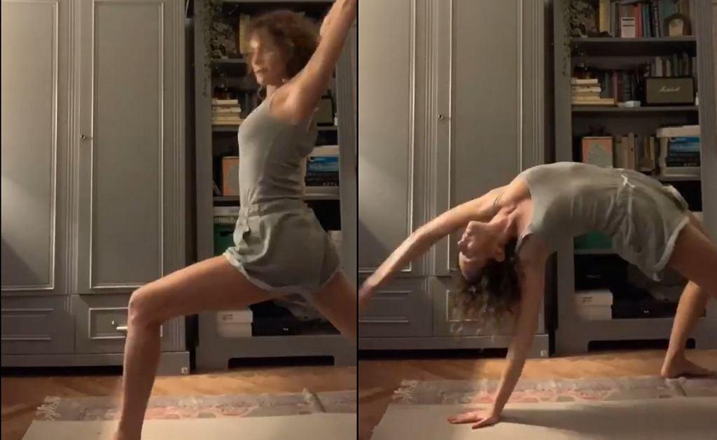 Monika Mrozowska - trening jogi