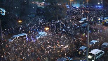 Blokada ulic w Krakowie