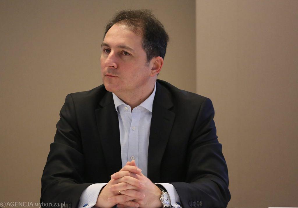 Nowy prezes GPW Rafał Antczak, były członek członek zarządu Deloitte Consulting