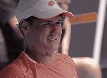 Australian Open. Kamil Majchrzak grał fenomenalnie, ale skreczował. Miał łzy w oczach