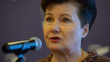 Hanna Gronkiewicz-Waltz poprosi ministra o ochronę. 'Miałam wczoraj nieprzyjemny incydent na uczelni'