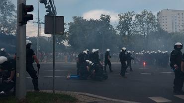 Interwencje policji podczas Marszu Równości w Białymstoku