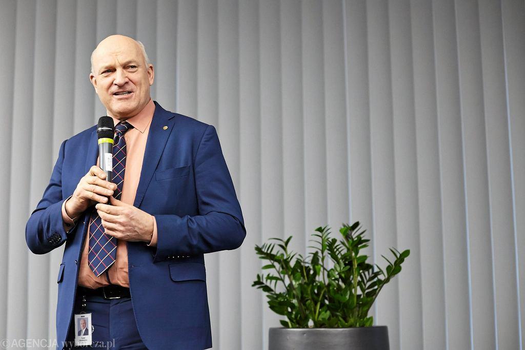 Paweł Olechnowicz, były prezes Lotosu
