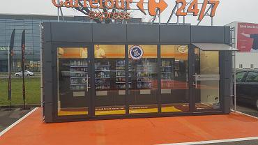 Carrefour obsługuje innowacyjnych sklep samoobsługowy