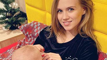Agnieszka Kaczor z córką