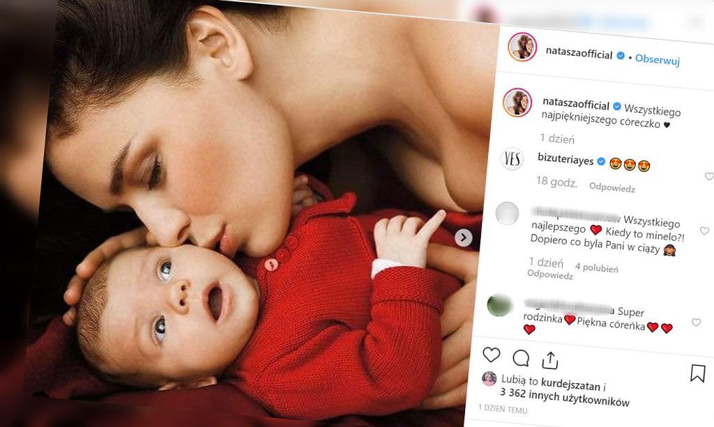 Natasza Urbańska pokazała zdjęcia córki