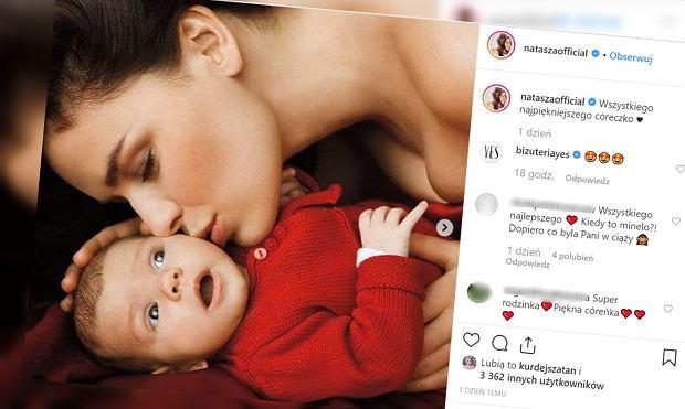 Natasza Urbańska została mamą 11 lat temu. Pokazała fotografie córki sprzed lat