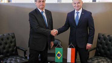 Jair Bolsonaro i Andrzej Duda