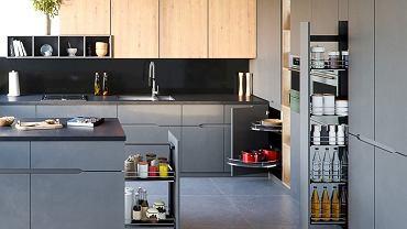 Kosze cargo w kuchni