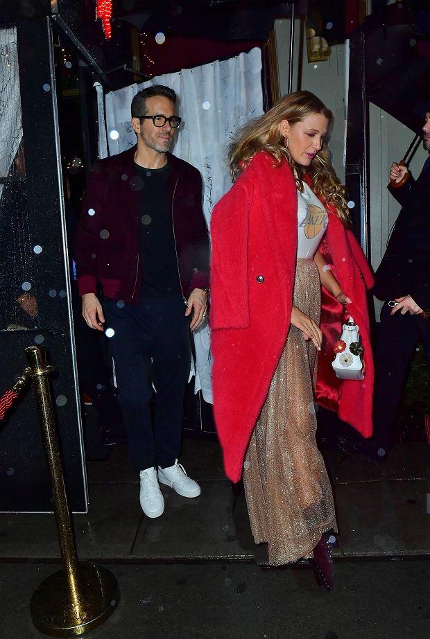 Blake Lively i Ryan Reynolds na przyjęciu urodzinowym Taylor Swifts