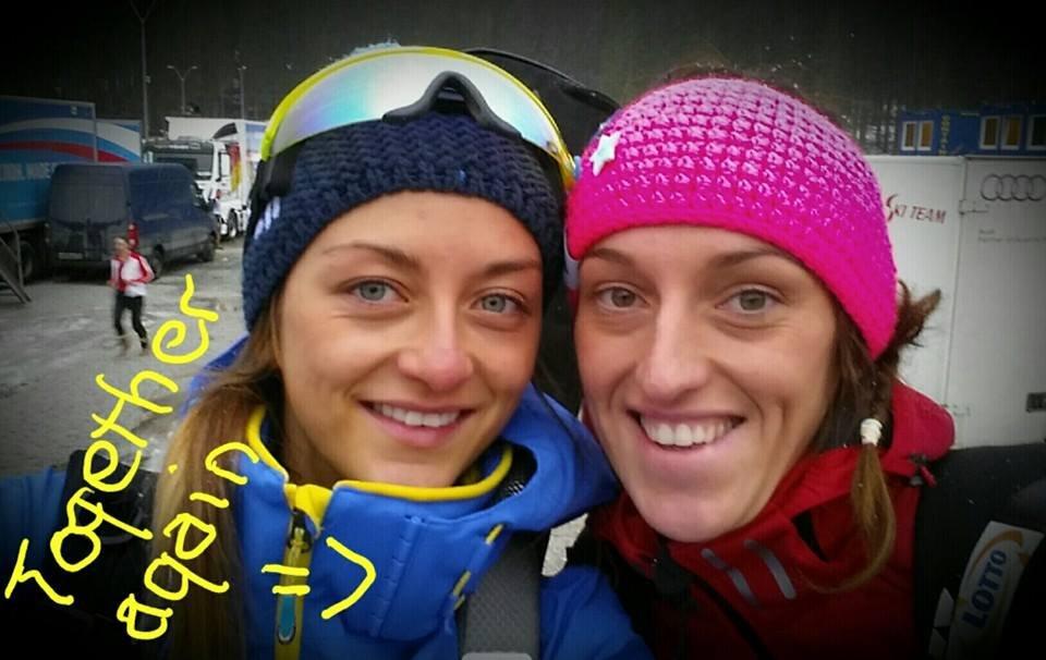 Monika Hojnisz i Patrycja Hojnisz