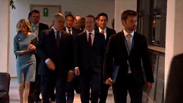 Mark Zuckerberg w Europie