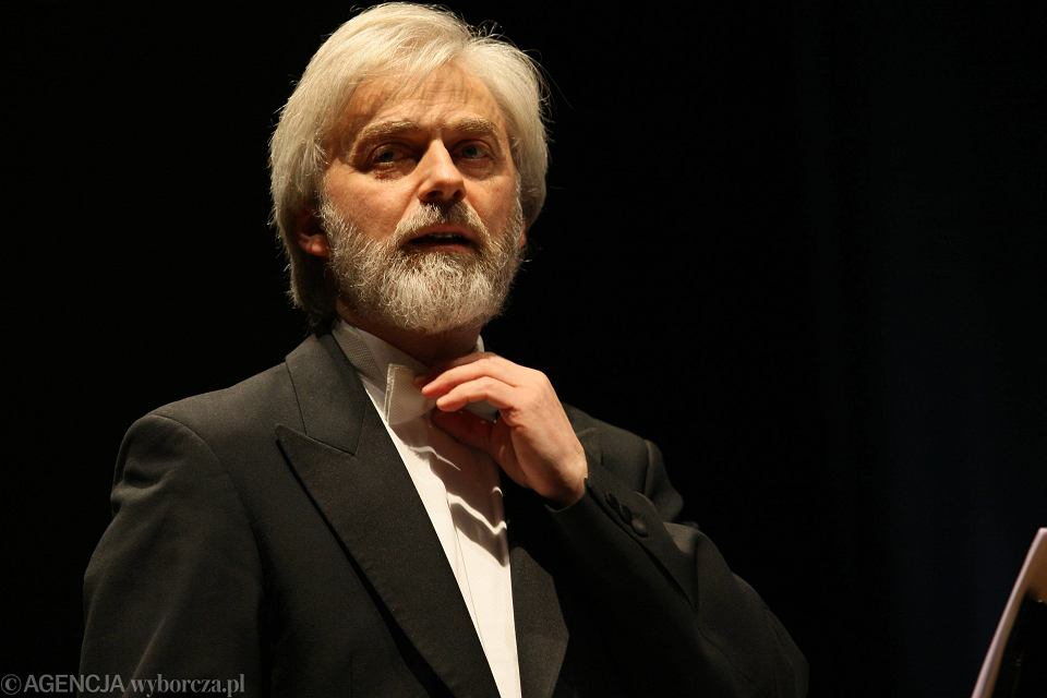 Krystian Zimerman w Collegium Maximum UJ w Krakowie, 2009 r.