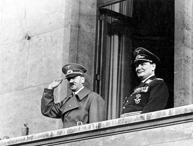 Adolf Hitler i Hermann Göring, 1938 r.
