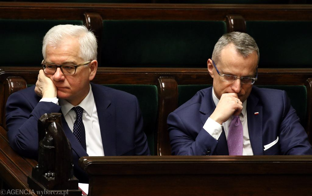 Jacek Czaputowicz i Marek Magierowski