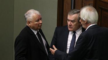 Jarosław Kaczyński, Piotr Gliński i Ryszard Terlecki