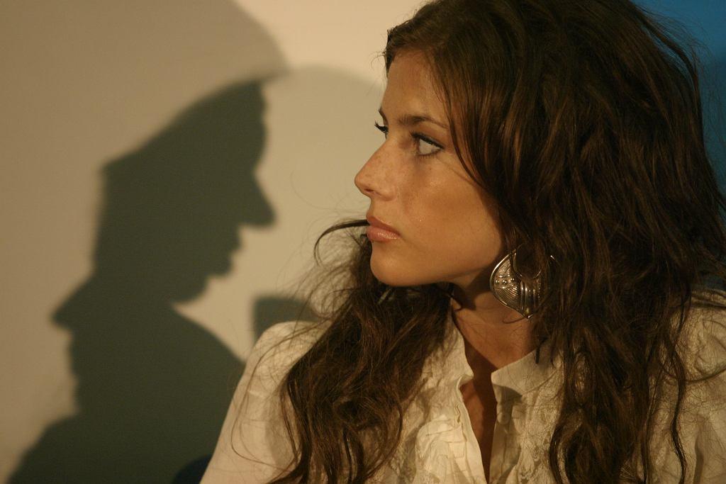 Weronika Rosati podczas Festiwalu Filmów Fabularnych w Gdyni